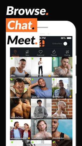Adam4Adam RADAR Gay Chat & Dating App - A4A release