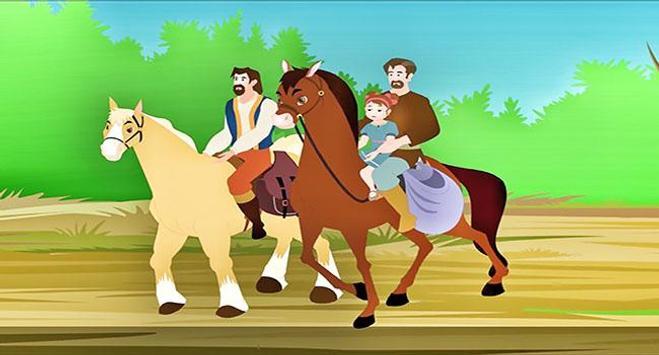 قصص اطفال حكايات عربية الحكيمة الصغيرة 2019 screenshot 1