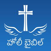 Telugu Bible Offline icon
