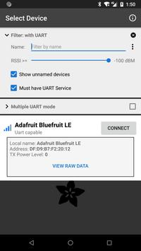 Bluefruit Connect الملصق