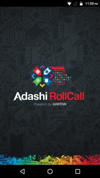 Adashi RollCall poster