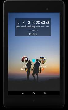 Были вместе люблю - любовь счетчик скриншот 11