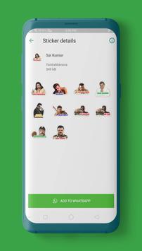 Kannada Stickers for WAStickerApps screenshot 1