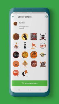 Shivaji Stickers for WAStickerApps screenshot 2