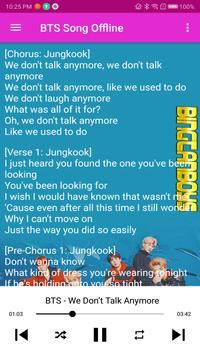 BTS Song Offline screenshot 2