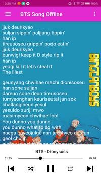 BTS Song Offline screenshot 4