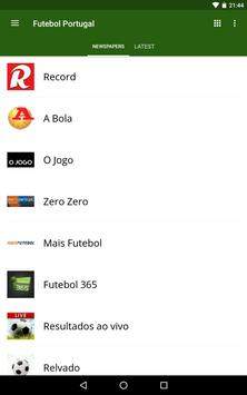 Futebol Portugal screenshot 14