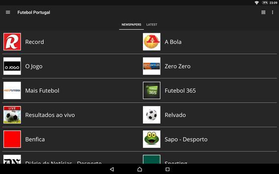 Futebol Portugal screenshot 11