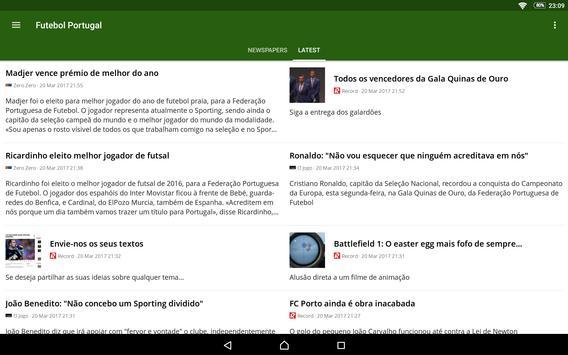 Futebol Portugal screenshot 12