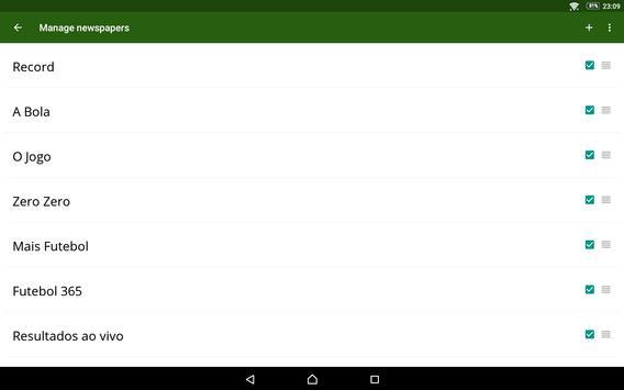 Futebol Portugal screenshot 13