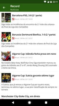 Futebol Portugal screenshot 1