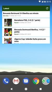 Futebol Portugal screenshot 3