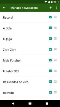 Futebol Portugal screenshot 6