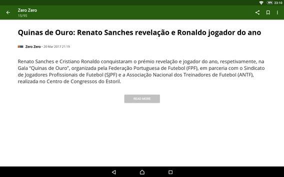 Futebol Portugal screenshot 9