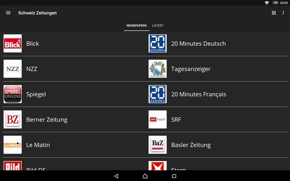 Switzerland News screenshot 12