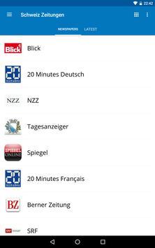 Switzerland News screenshot 16