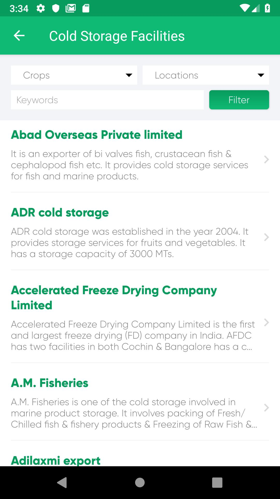 Agri Directory for Android - APK Download