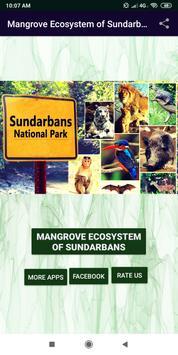 Mangrove Ecosystem of Sundarbans poster