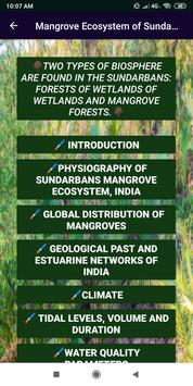 Mangrove Ecosystem of Sundarbans screenshot 1