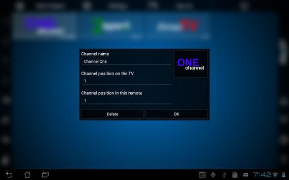 Smart TV Remote تصوير الشاشة 10