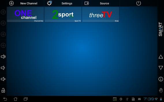 Smart TV Remote تصوير الشاشة 7