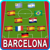 Guess the Football Clubs by Country Logo Quiz 2019 icon