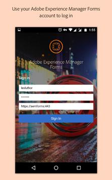 Adobe Experience Manager Forms पोस्टर