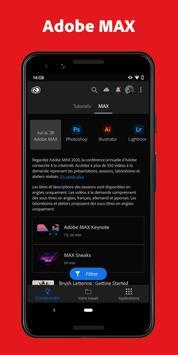 Adobe Creative Cloud capture d'écran 5
