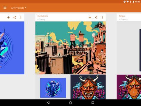 Adobe Illustrator Draw Ekran Görüntüsü 7
