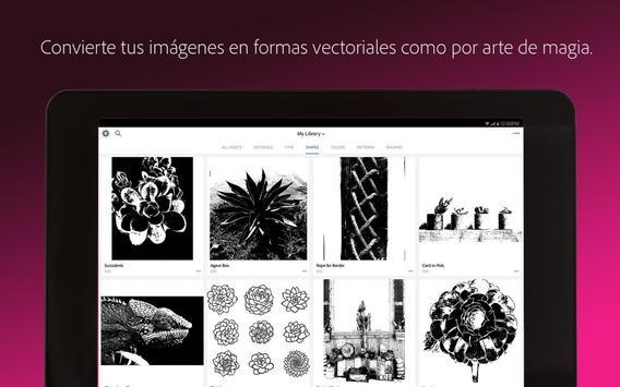 Adobe Capture captura de pantalla 10