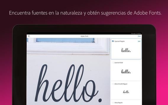 Adobe Capture captura de pantalla 11