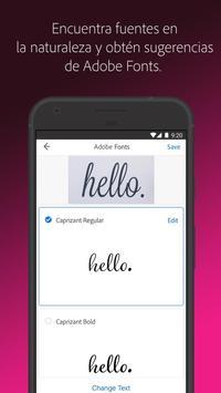 Adobe Capture captura de pantalla 2