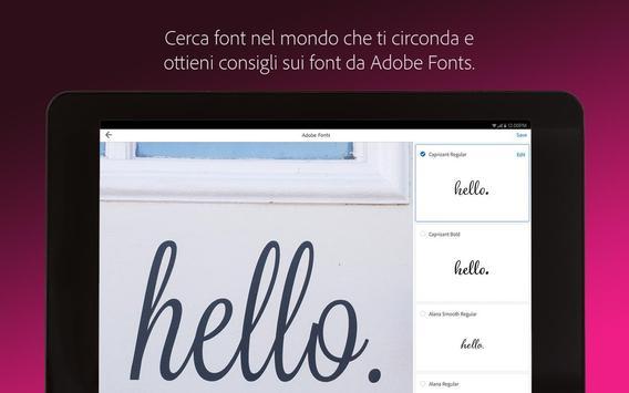 11 Schermata Adobe Capture