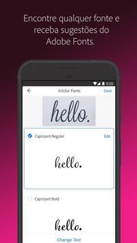 Adobe Capture imagem de tela 2