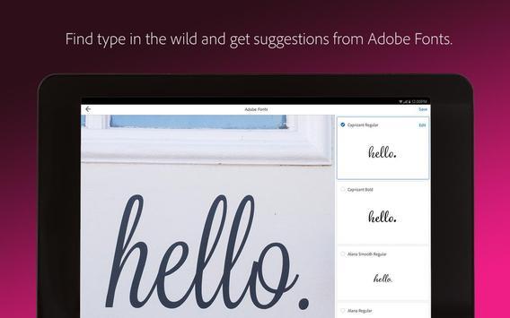 Adobe Capture स्क्रीनशॉट 19