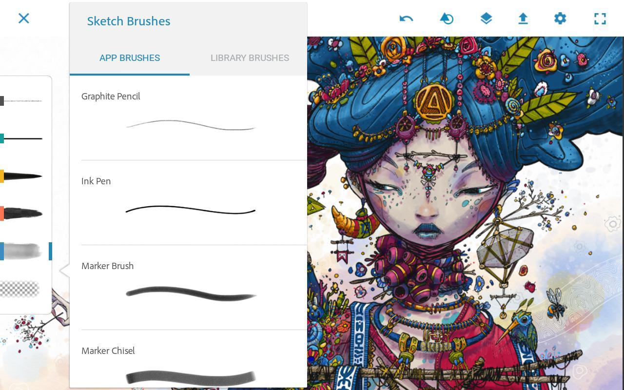 Adobe Photoshop Sketch Adobe Photoshop Sketch terbaru