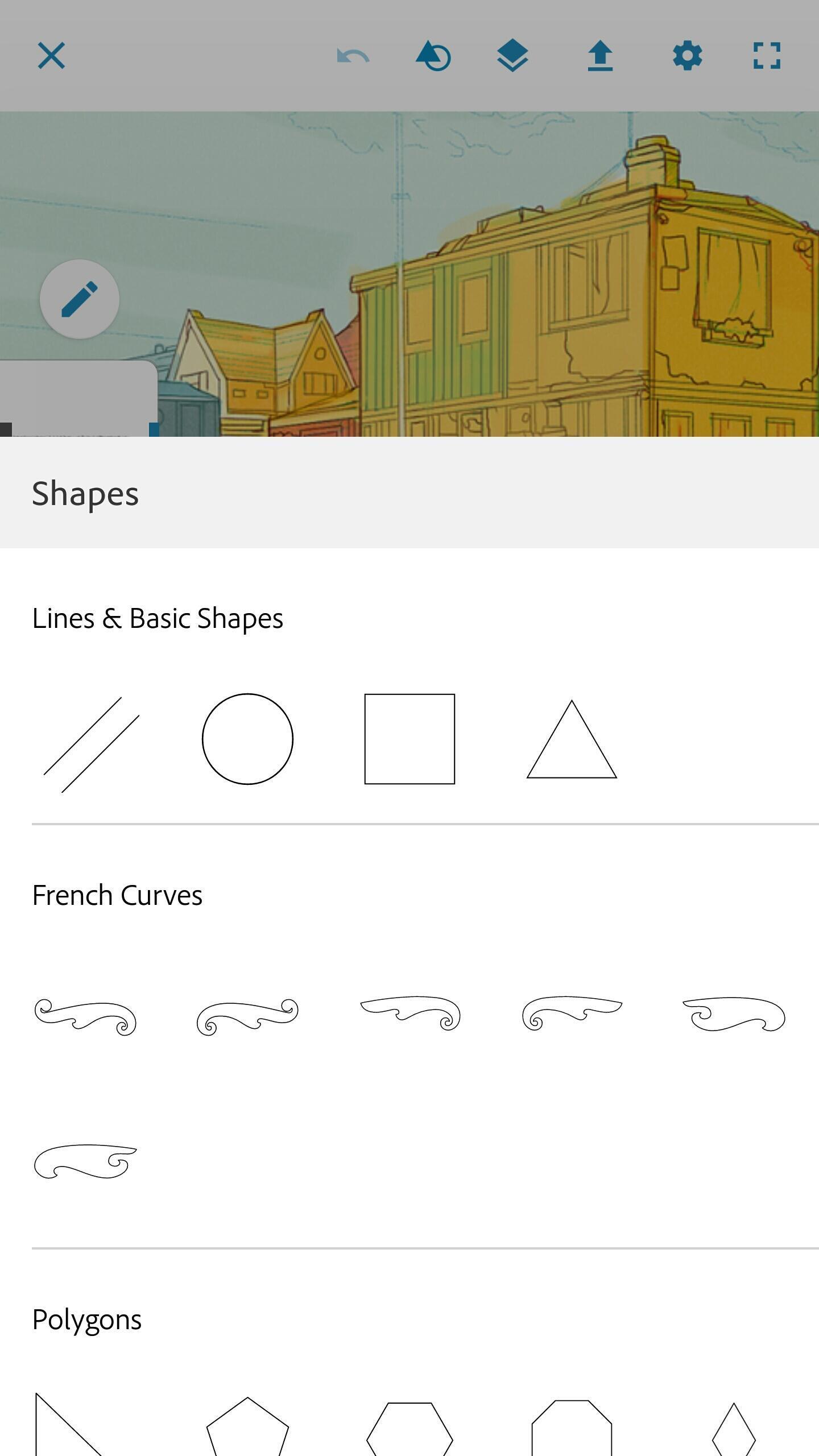 Download aplikasi mobomarket Adobe Photoshop Sketch