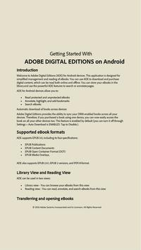 Adobe Digital Editions poster