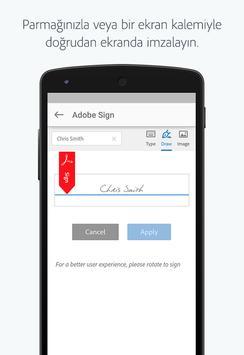 Adobe Sign Ekran Görüntüsü 3