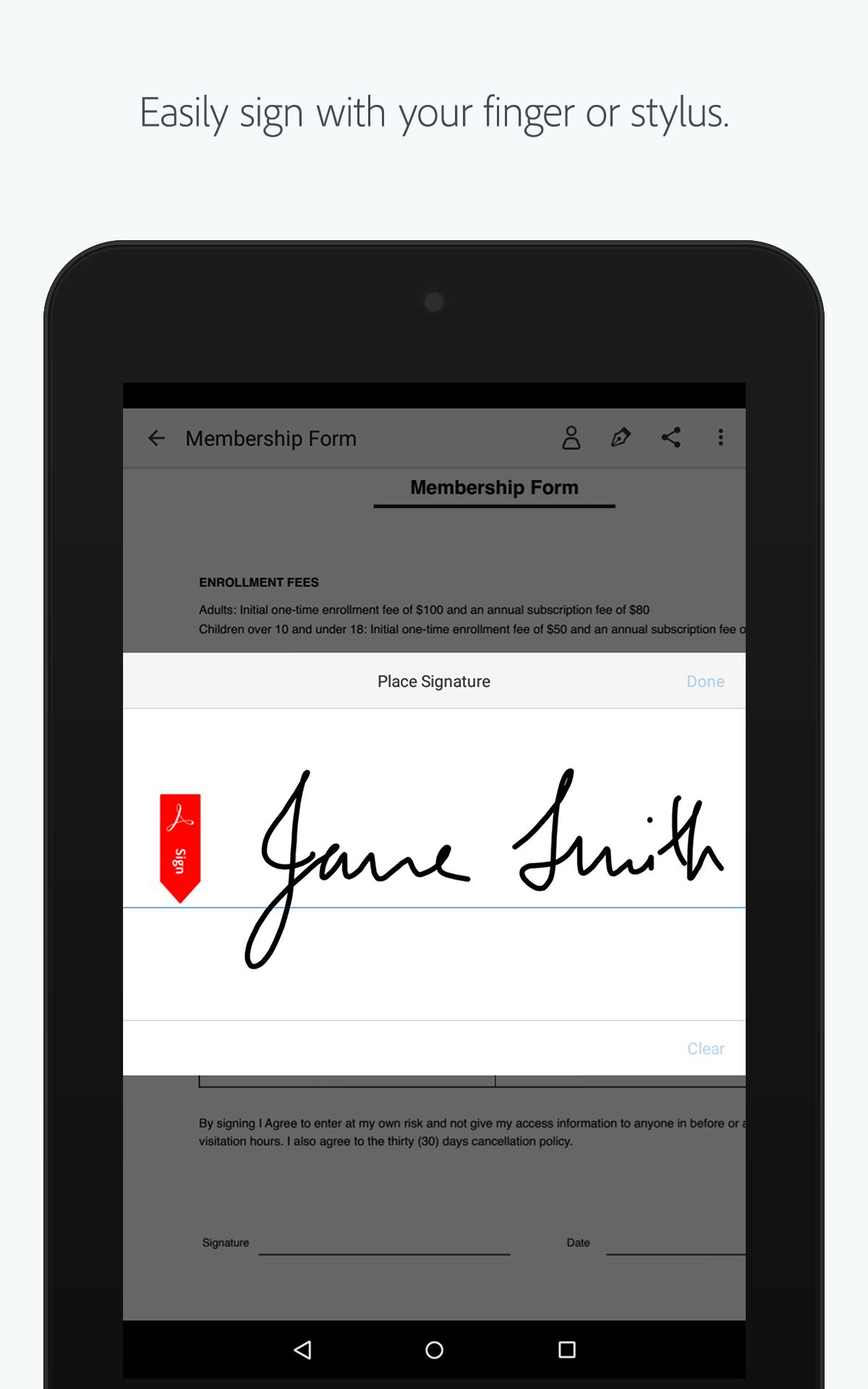 Adobe Fill & Sign for Android - APK Download