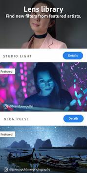Adobe Photoshop Camera: Photo Editor & Lens Filter screenshot 3