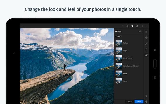 Adobe Lightroom CC - Photo Editor screenshot 8