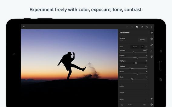 Adobe Photoshop Lightroom CC स्क्रीनशॉट 9