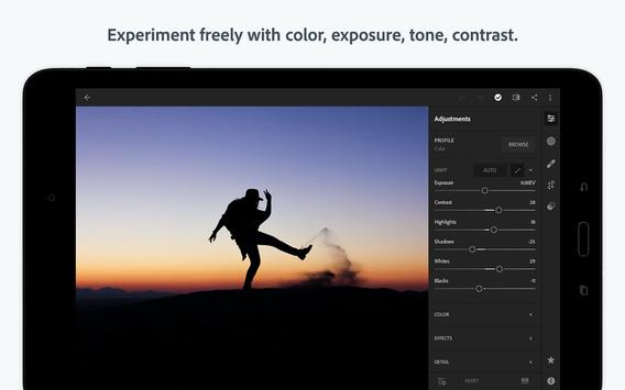 Adobe Lightroom CC - Photo Editor screenshot 9