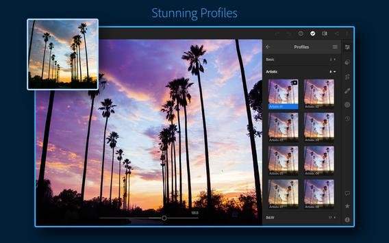 Adobe Lightroom - Photo Editor & Pro Camera تصوير الشاشة 11