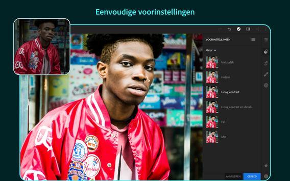 Adobe Lightroom - Foto-editor screenshot 8