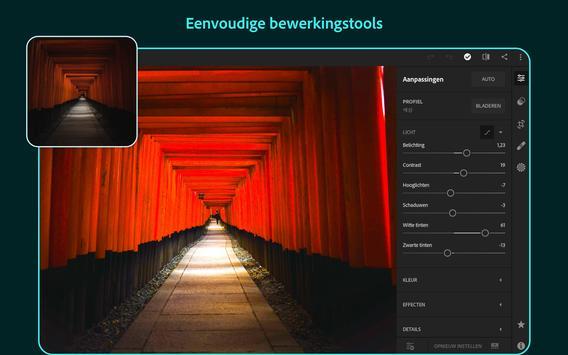 Adobe Lightroom - Foto-editor screenshot 9