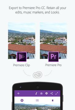 Adobe Premiere Clip تصوير الشاشة 4