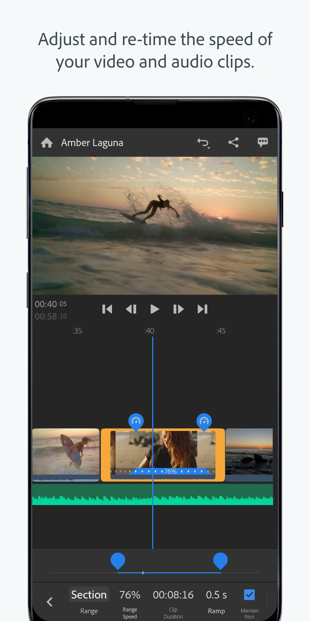 Adobe Premiere Rush — Video Editor for Android - APK Download