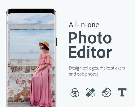 Adobe Photoshop Express:Photo Editor Collage Maker Poster